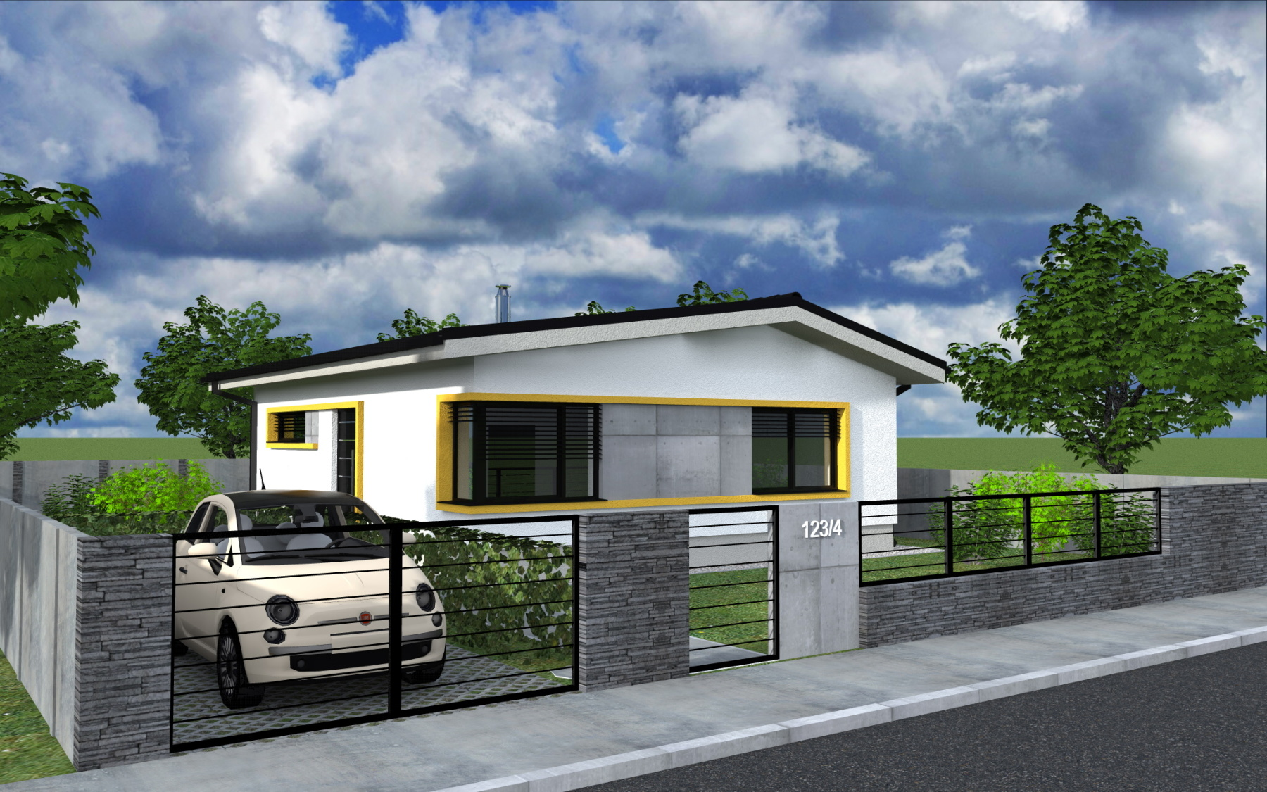 Rodinný dom – 3 izbový